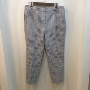 NWT Adrianna Papell Printed Kate Fit Pants